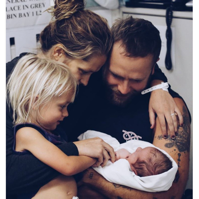 "<em>Point Break</em> actress Teresa Palmer and her husband Mark Webber, already parents to two-year-old Bodhi, welcomed son Forest Sage on Dec. 12 in Adelaide. ""Our hearts are so full and blessed, he is perfect,"" Teresa wrote on social media.