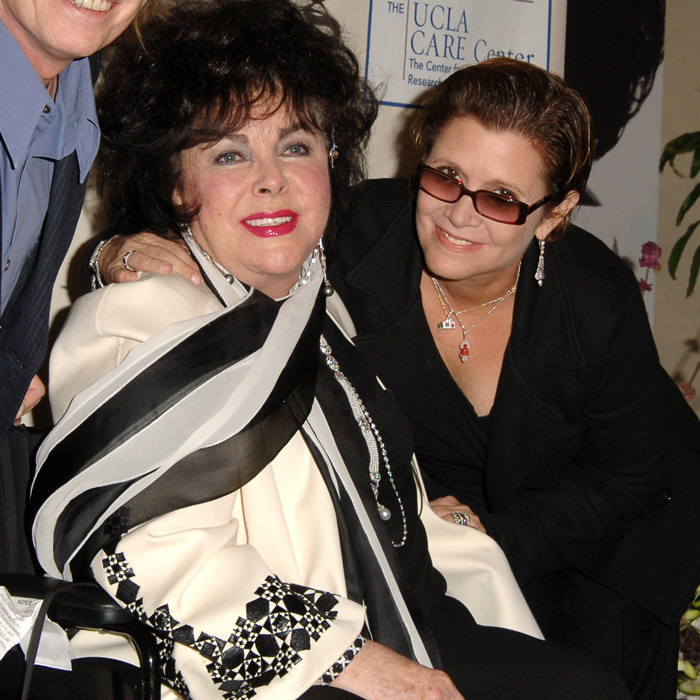 <p>The actress's father, Eddie, famously divorced her mother in 1959 to marry Debbie's close friend Elizabeth Taylor, for whom Carrie's mom once served as a matron-of-honor.