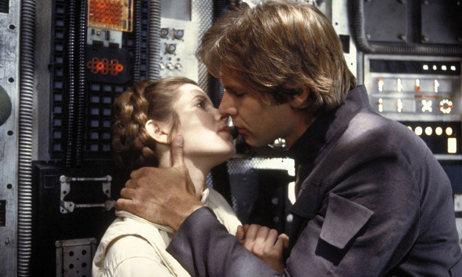 "In 2016, the actress revealed that she and her co-star Harrison Ford were involved in a three-month secret affair. ""It was so intense,"" she told <em>People</em> magazine of the romance. ""It was Han and Leia during the week, and Carrie and Harrison during the weekend.""