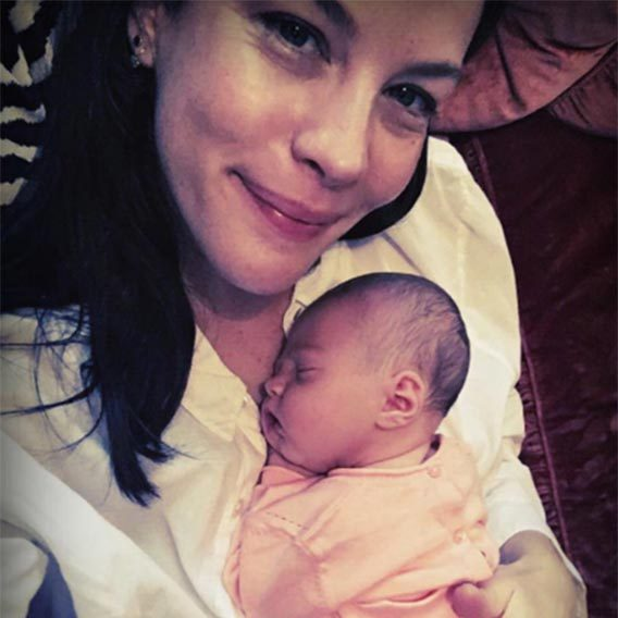 Liv Tyler and fiancé David Gardner welcomed baby Lula Rose into the world on Jul. 10 this year. Lula is the couples first daughter, and joins their 18-month-old son, Sailor, along with Liv's 11-year-old son Milo with her ex - husband Royston Langdon and David's nine-year-old son Gray, from a previous relationship.