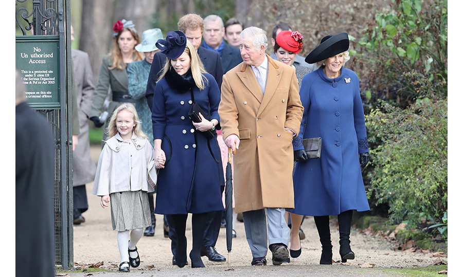 A few days before her sixth birthday, the little royal looked picture perfect as she attended a Christmas church service with her extended family in Sandringham. 