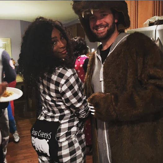 <h2>Serena Williams and Alexis Ohanian</h2>