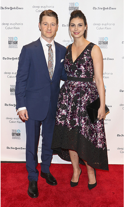 <h2>Morena Baccarin and Ben McKenzie</h2> 