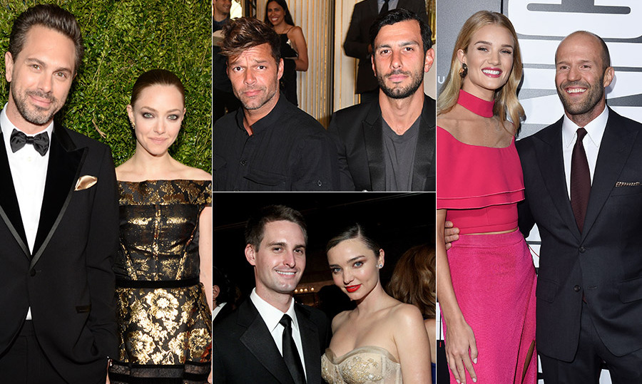 "Click through to see the celebrity couples who are expected to say ""I do"" in 2017."