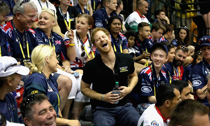 Prince Harry brought nothing but enthusiasm to every event during his Invictus Games tournament in Orlando. The royal had a blast mingling with athletes and spectators, alike. 