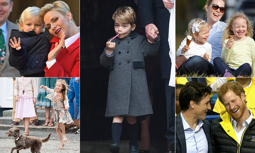 Lightsaber fights, animal encounters and family adventures, oh my! Click through to see 2016's best candid royal moments...
