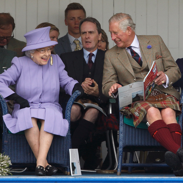 The annual Braemar Gathering in Aberdeenshire is guaranteed to always delight the Queen and Prince Charles.  