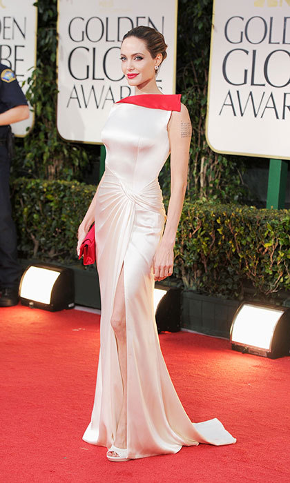 Angelina Jolie in Atelier Versace, 2012