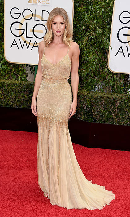 Rosie Huntington-Whiteley in Atelier Versace, 2016