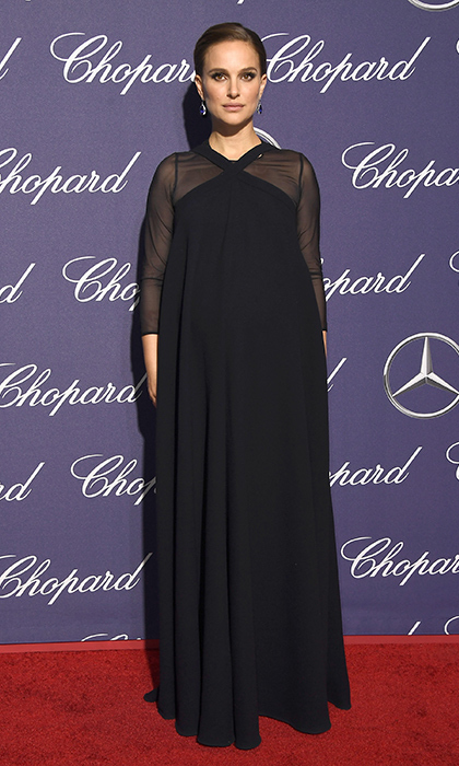 Jan 2: Natalie Portman dazzled in Dior at the Palm Springs Film Festival. 