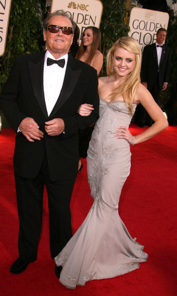 <p>Miss Golden Globe 2007</p><p>Lorraine Nicholson, daughter of Jack Nicholson and Rebecca Broussard</p><p>Photo: &copy; Getty Images</p>