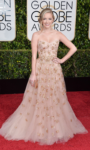 <p>Miss Golden Globe 2015</p><p>Greer Grammer, daughter of Kelsey Grammer and Barrie Buckner</p><p>Photo: &copy; Getty Images</p>