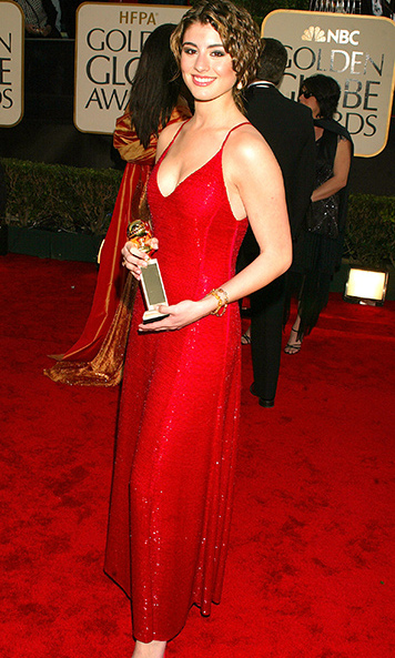 <p>Miss Golden Globe 2003</p><p>Dominik Garcia-Lorido, duaghter of Andy Garcia and Maria Victoria Lorido</p><p>Photo: &copy; Getty Images</p>