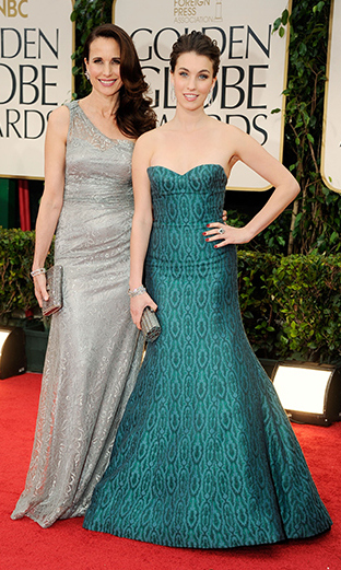 <p>Miss Golden Globe 2012</p><p>Rainey Qualley, daughter of Paul Qualley and Andie MacDowell</p><p>Photo: &copy; Getty Images</p>