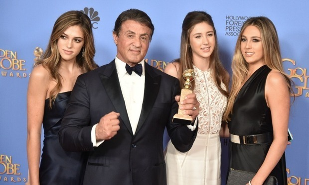 <p>Miss Golden Globes 2017</p><p>Sophia, Sistine and Scarlet, daughters of Sylvester Stallone.</p><p>Photo: © Getty Images</p>