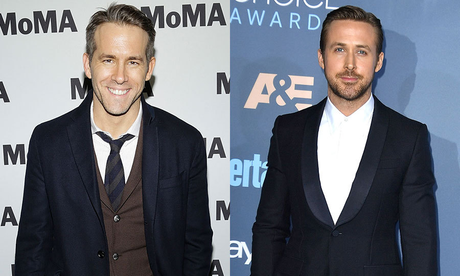 Ryan Reynolds and Ryan Gosling are going head-to-head for the award for best actor.