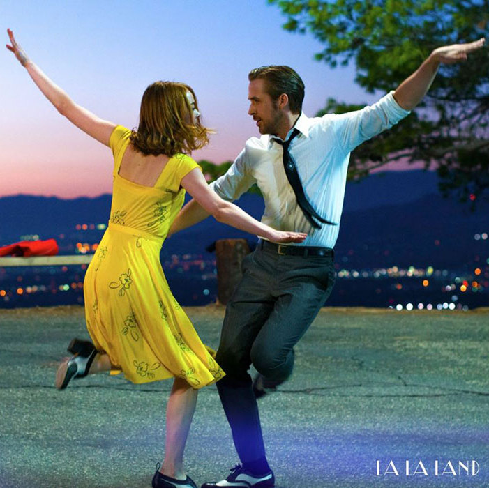 <em>La La Land</em> is up for many awards, including best motion picture, musical or comedy.