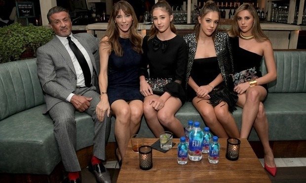 Sylvester Stallone's three daughters will serve as this year's Miss Golden Globes. 