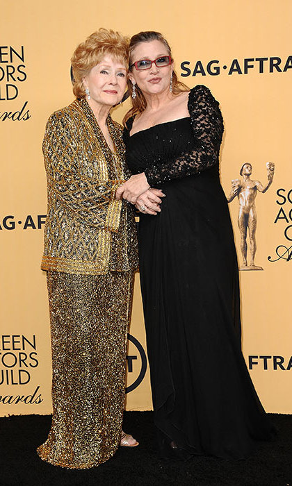 Debbie Reynolds and Carrie Fisher both passed away last week.
