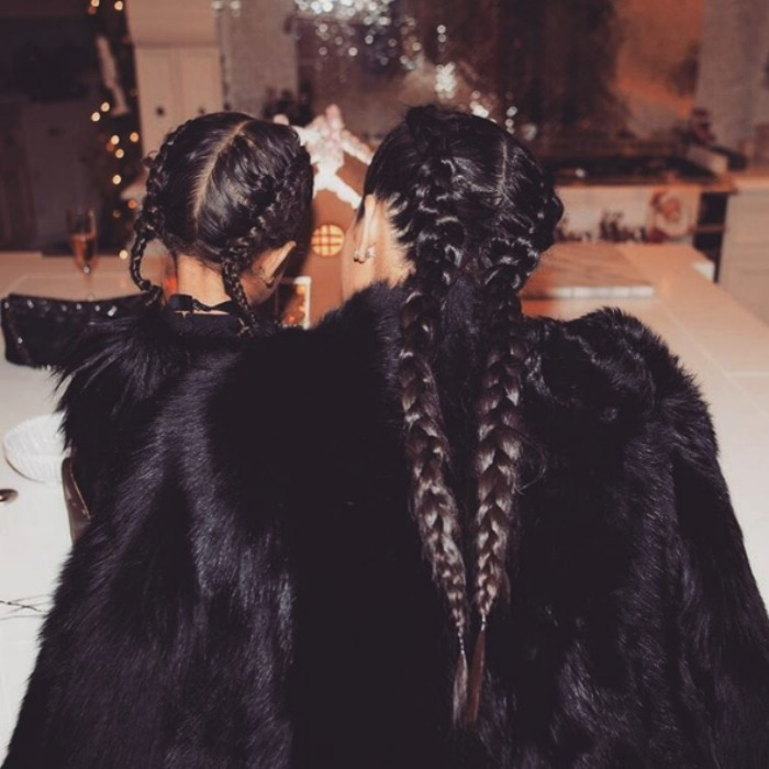 "<h3><a href=""/tags/0/kim-kardashian/"" target=""_blank"">Kim Kardashian</a> and North West</h3><p>The reality star and her stylish tot celebrated the holidays in style. North and Kim both wore long braids and black fur coats to Kris Jenner's annual Christmas party, showcasing their mummy and me fashion from head to toe.</p><p>Photo: © Instagram</p>"