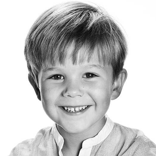 Prince Vincent's 6th birthday portrait. 
