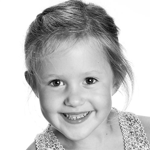 Princess Josephine's 6th birthday portrait. 