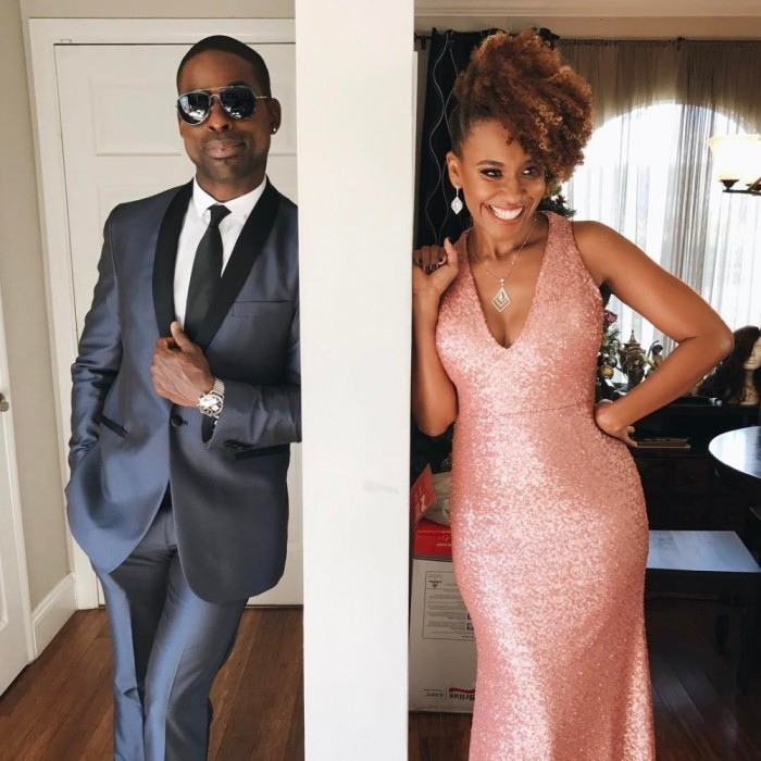 Sterling K. Brown and his wife Ryan Michelle Bathe looked sharp before the ceremony. The couple both celebrated their acclaimed show This Is Us.
