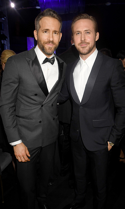 Ryan and Ryan at the Critics' Choice Awards in December.
