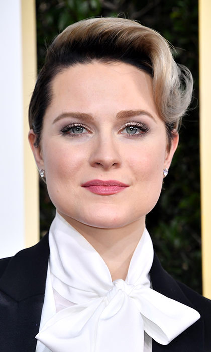 <h3>Evan Rachel Wood</h3><p>Evan's gender-bending short crop was a huge departure from her damsel-in-distress character on <em>Westworld</em>, and we loved the message she wanted to send to young girls about dressing however they want.</p><p>Photo: © Getty Images</p>