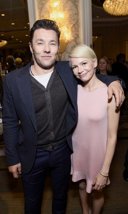 "<strong>January 7:</strong> Joel Edgerton and Michelle Williams caught up at the BAFTA Tea Party at the Four Seasons Hotel in Beverly Hills. When asked what he was looking forward to the most during the Golden Globes weekend Joel told Hello!: ""Me and my bro. My brother is coming with me tomorrow. I've never been to the Golden Globes before.""