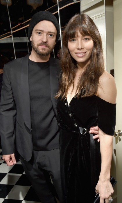 <h3>January 5:</h3> Justin Timberlake and Jessica Biel made it a date night during the <em>W Magazine</em> party celebrating the Best Performances Portfolio and the Golden Globes with Audi and Moet & Chandon at Chateau Marmont in L.A.