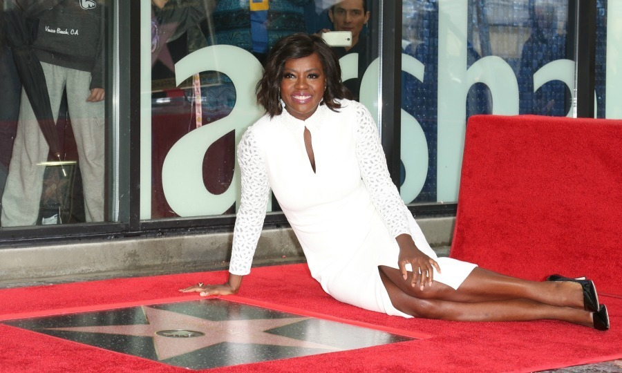 <strong>January 5:</strong> You're a shining star! Viola Davis was presented with the first star on the Hollywood Walk of Fame in 2017. The <em>How to Get Away with Murder</em> actress was honored by good friend Meryl Streep during the ceremony in Hollywood.