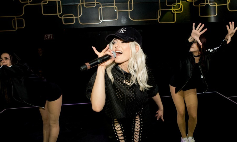 <strong>January 4:</strong> ​Bebe Rexha performed at a private CES party hosted by AwesomesnessTV and Complex in Las Vegas.
