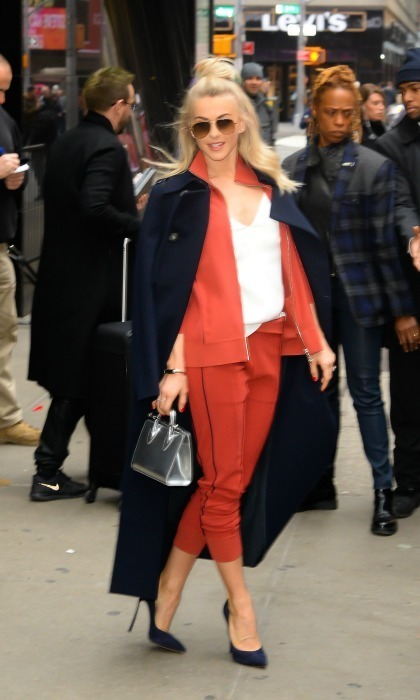 <strong>January 4:</strong> Street style! Julianne Hough showed off her stellar street style while out and about in NYC.
