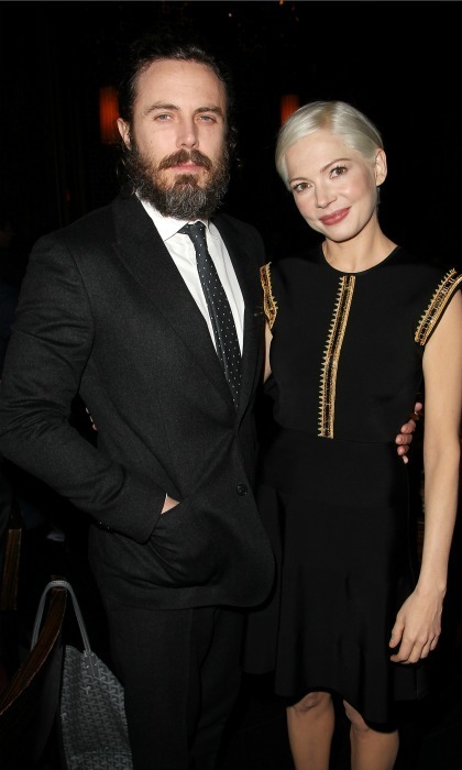 <strong>January 2:</strong> <em>Manchester By the Sea</em> stars Casey Affleck and Michelle WIlliams kicked off the busy week at the New York Film Critics Circle Awards at TAO Downtown in NYC.