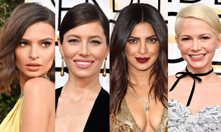 <h2>Golden Globes Beauty Looks</h2>