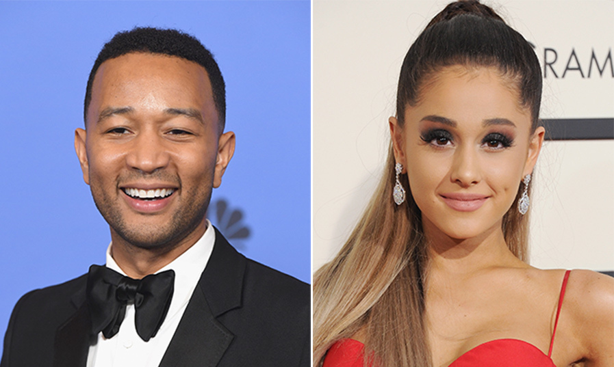 Ariana Grande John Legend To Perform Title Track For Beauty And The Beast