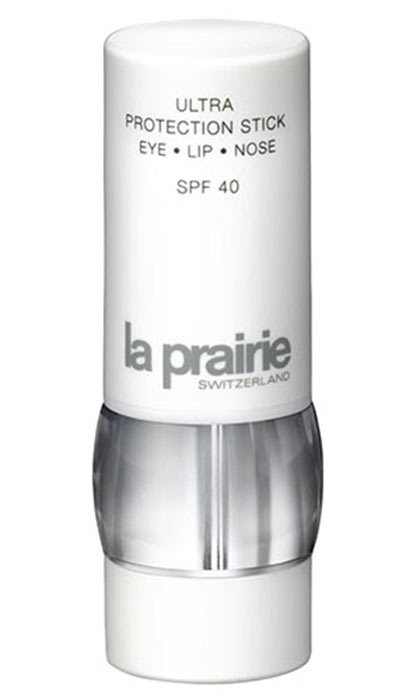 "Ultra Protection Stick SPF 40, $80, La Prairie; visit <a href=""http://laprairie.co.uk"" target=""_blank"">laprairie.co.uk</a>"