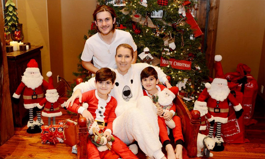 Celine Dion Shares Family Photo Ahead Of One Year