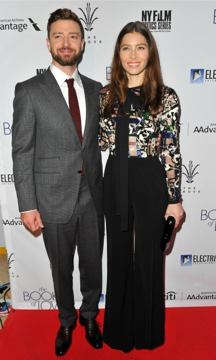 Jan.10: Jessica Biel and Justin Timberlake did date night in style during the Los Angeles premiere of <em>Book of Love</em>.