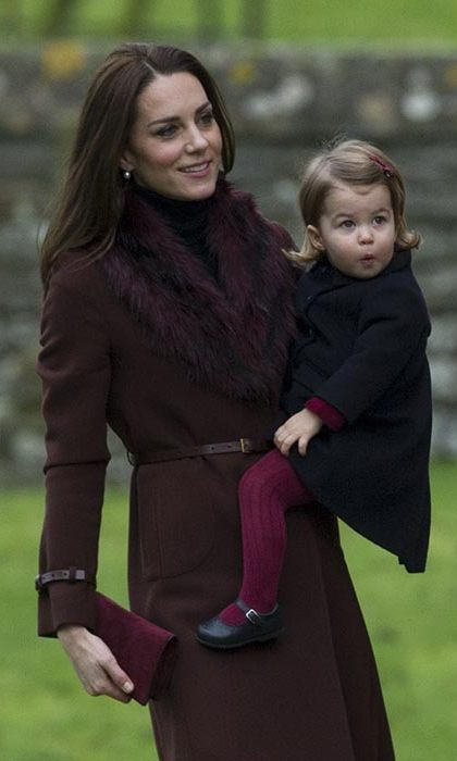 The Duchess of Cambridge wore a Hobbs coat on Christmas day.