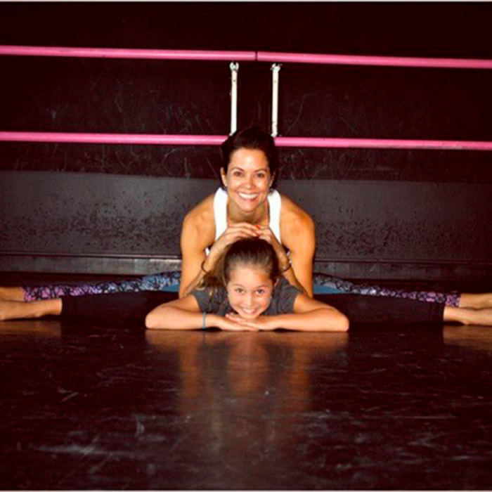<p><em>Dancing with the Stars</em>' Brooke Burke is helping make sure her daughter is fit and healthy with their joint exercises.</p><p>Photo: &copy; Instagram/@brookeburke</p>