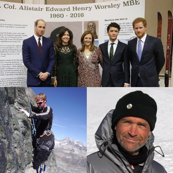 "<p>Kensington Palace shared a photos of the royals with Henry's family as well as a touching tribute to Henry himself on Instagram.</p><p>""The Duke of Cambridge and Prince Harry honoured the memory of adventurer Henry Worsley at the inaugural #EndeavourAwards,"" they captioned the photo montage. ""They were joined by the Worsley family as they celebrated the best sporting endeavours of 2016.The Duke said at the event the best way to honour Henry - who died during a solo crossing of Antarctica in aid of The Endeavour Fund, was to honour his legacy.</p><p>""The Henry Worsley Award went to Neil Heritage - who abandoned at attempt on the summit of the Matterhorn but used his experience to inspire others.""</p><p>Photo: © Instagram</p>"