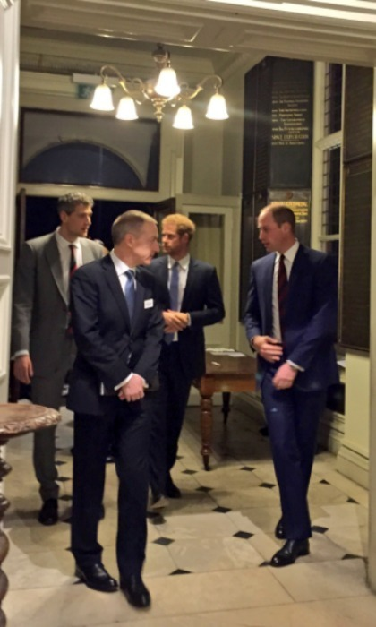 "<p>Prince Harry and Prince William attended the inaugural Endeavour Fund Awards on Jan. 17. During the evening ceremony, their Royal Highnesses and the Endeavour Fund honoured Henry Worsley, who tragically died in January 2016 while attempting to cross the Antarctic continent solo and unsupported.</p><p>The Duke of Cambridge told the attendees, ""Tonight, as we look back on everything that has been achieved, we must remember that a lot of these successes have been supported by the funds raised through Henry's herculean efforts. The best way that we can thank Henry, the best way we can honour his memory is to create a legacy.</p><p>""The award of a prize in his name, is but a small part of this legacy, a gesture offered to show how much Henry meant to us. A much more significant and meaningful legacy can be fulfilled by you; the community for whom Henry sacrificed so much.""</p><p>Photo: &copy; Twitter/@kensingtonroyal</p>"