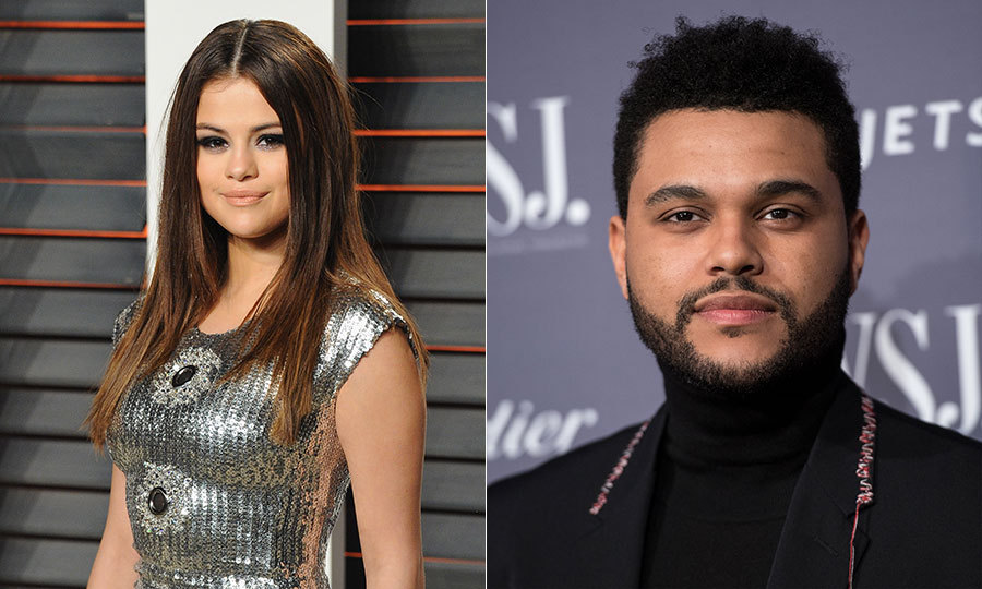 <h3>The Weeknd and Selena Gomez</h3>