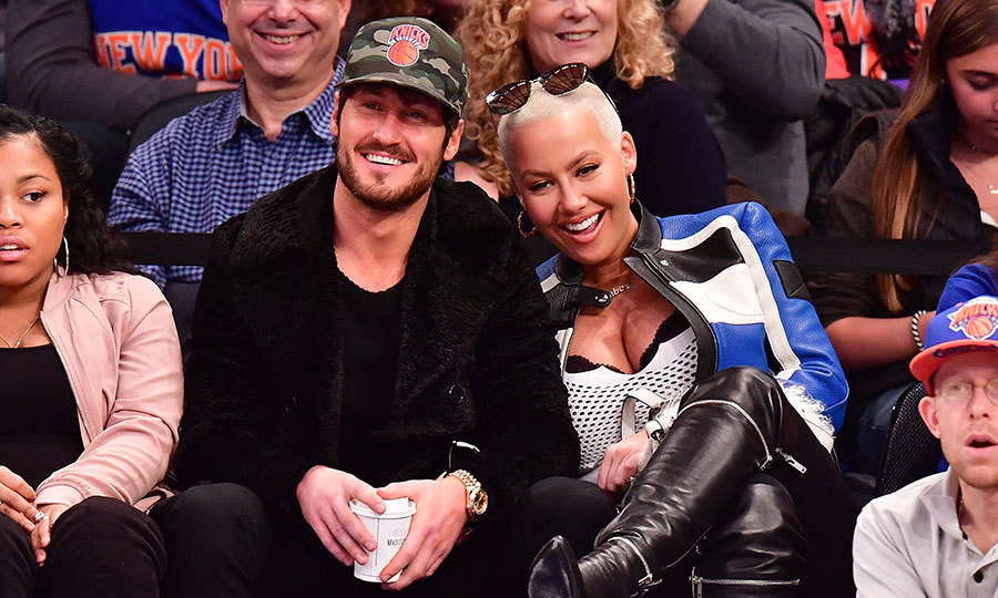 <h3>Amber Rose and Val Chmerkovskiy</h3>