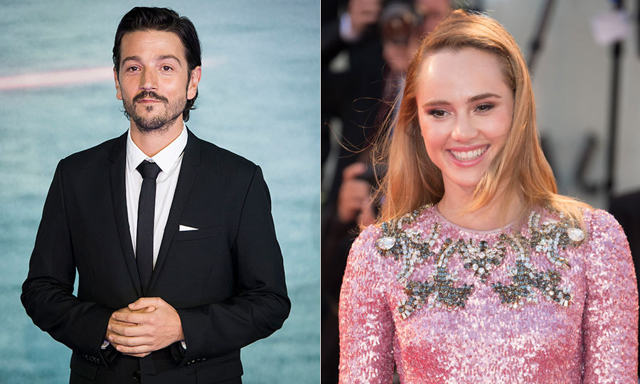 <h3>Suki Waterhouse and Diego Luna</h3>