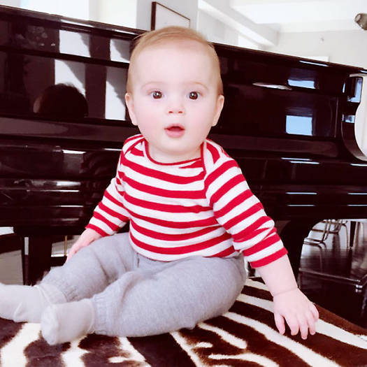 <strong>Theodore Kushner, 9 months</strong>