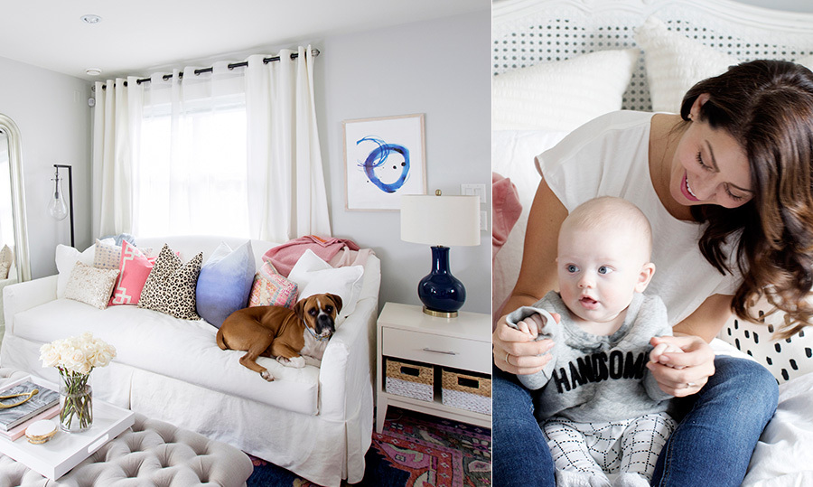 Jillian Harris has opened the door to her Vancouver condo to show off her home's chic new makeover. 