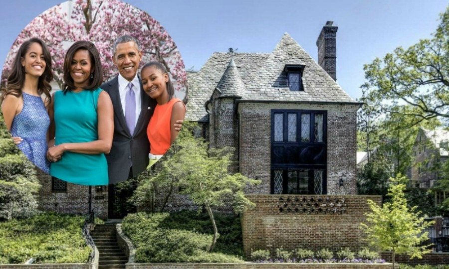 The Obamas may have moved out of the White House, but they won't be far away. The former first family will soon move into a 8,200 square foot home in the neighbourhood of Kalorama. 